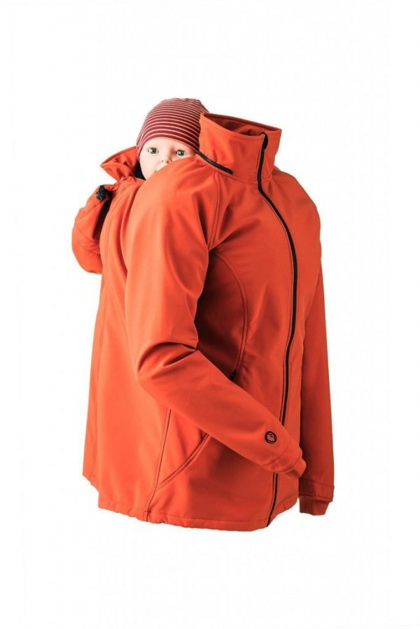 Mamalila Allrounder Soft-shell Jacket Terracotta