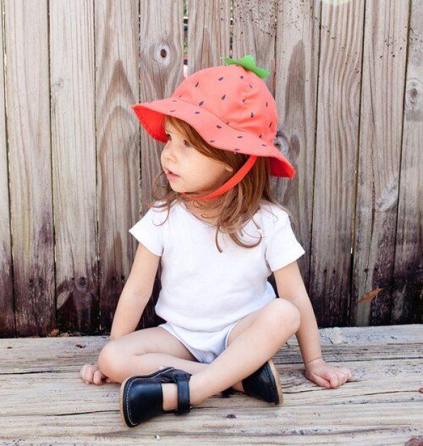 Zoocchini Strawberry Baby Sun Hat