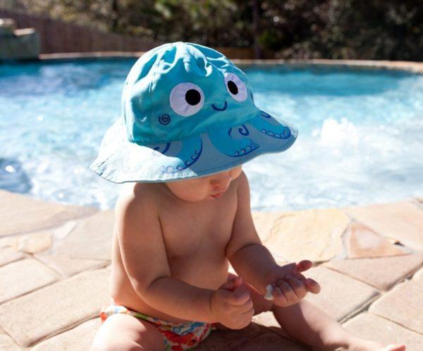 Zoocchini Octopus Baby Sun Hat