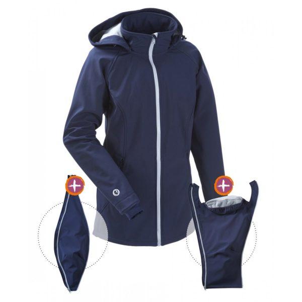 Mamalila Allrounder Soft-shell Jacket Navy Ice