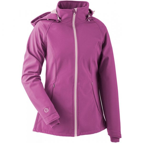 mamalila softshell jacket pink