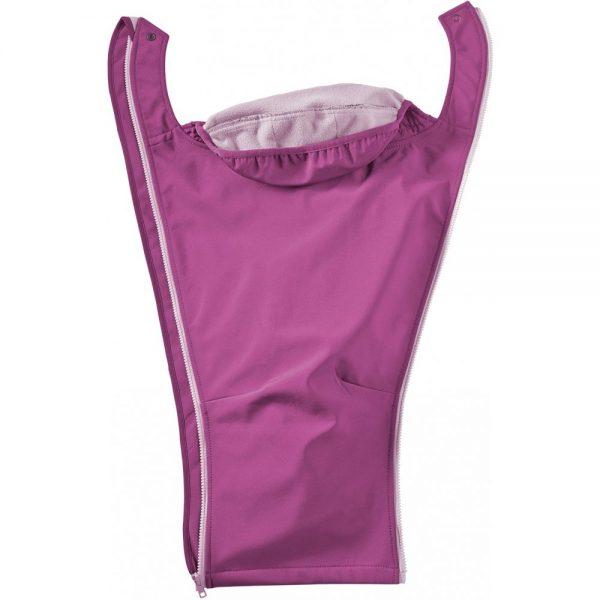 mamalila soft shell jacket pink