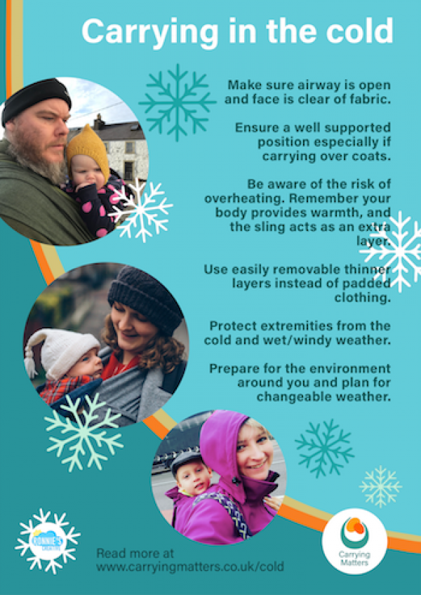 Carrying in the Cold Poster
