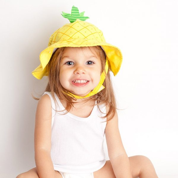 Zoocchini Baby Sun Hat - Pineapple 12-24 months