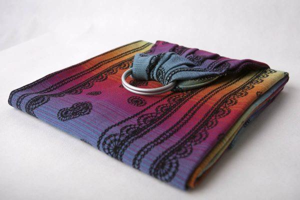 Lenny Lamb Ring Sling Rainbow Lace Dark