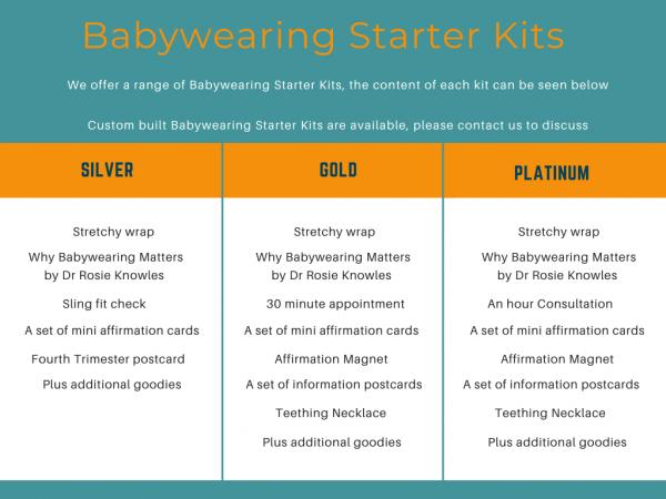 Babywearing Starter Kit