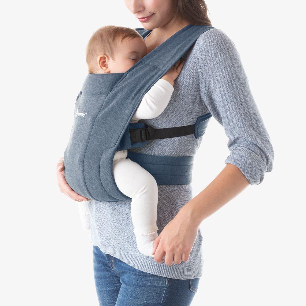 Ergobaby embrace oxford blue newborn buckle